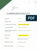 Cuaderno de Investigación - Caso Muñoz