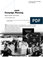 Air Component Campaing Planning