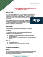 Protocolo y Procedimiento de Aerosolterapia CS San Fernando Version 1.0 2007
