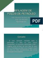 PERFILAGEM DE POÇOS DE PETRÓLEO