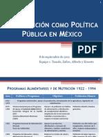 09_08 La Nutrición como Política Pública en México