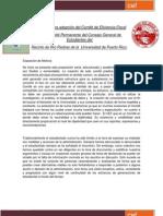 Propuesta para Adopción del Comité de Eficiencia Fiscal