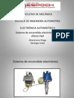 Sistema Encendido Electronico - Efecto Hall -