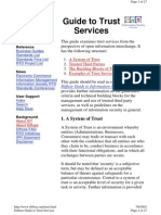Diffuse - Guide to Trust Services and Building Blocks of Trust - TTP