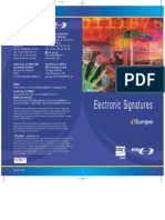 E-Signatures the Real Final 1008011 - eEurope