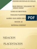Fisiologia Placentaria Silva Juarez Jose Antonio; Seccion 18