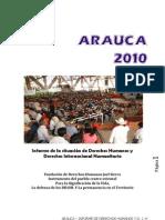 Informe de Derechos Humanos-Arauca-2010