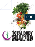 Total Body Shaping Nutritional Guide