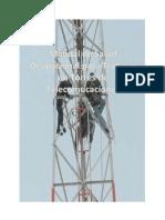 Manual de Salud Ocupacional Para Trabajar en Torres de Telecomucaciones