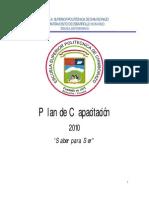 Plan de Formacion Espoch 2010