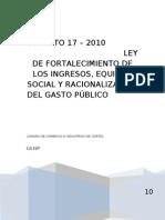 LEY_DE_FORTALECIMIENTO_-_EXPLICATIVA-_CCIC_SPS-_27-05-2010[1]