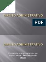 Slides - Direito Administrativo