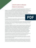 Aplicación de matrices en finanzas