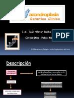 acondroplasia genetica