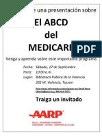 Presentacion Sobre El Medicare - Biblioteca de Tucson Valencia - 20110917