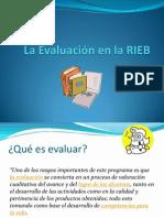 La Evaluación basada la RIEB