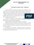 Reflexão da UFCD, Sociedade, Tecnologia e Ciência – Fundamentos