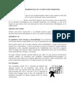 AXIOMAS FUNDAMENTALES DE LA DIRECCIÓN FINANCIERA