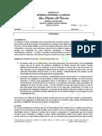 TEMTICA  4-8º-GÉNEROS  LITERARIOS - LA NOVELA