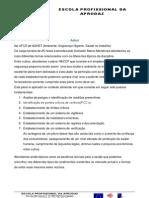 REFLEXÃO FINAL SEGURANÇA E AMBIENTE NO TRABALHO