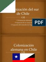 Colonización del sur de Chile
