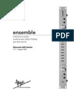 Ensemble Users Guide It