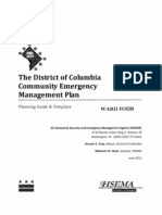 Community Emergency Management Plan Ward 4