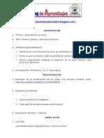 Sesion Blog Primaria