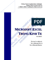 Final Style MS Excel
