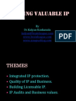 Building Valuable IP