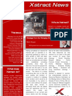 Xstract July Newsletter 2011