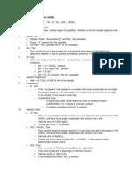 Scheme of Analysis (Unknown 2)