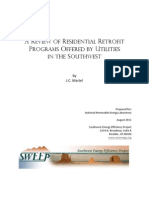 Review of Residential Retrofit Programs in SW