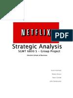 Netflix Tech Strategy