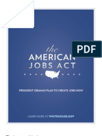 The American Jobs Act - President Barack Obama Plan Delivered in Joint Session of Congress - September 8th 2011