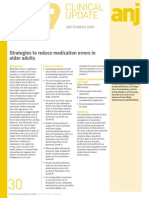 Strategies to Reduce Medication Errors in Older Adults