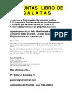 PREGUNTAS DEL LIBRO DE GÁLATAS
