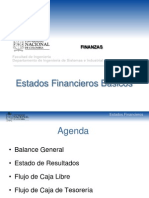 1. Estados financieros