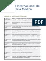 LEGISLACION MEDICA