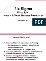 Six Sigma & HRM by Omer