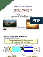 Hybrid Rocket Propulsion for Future Aircraft