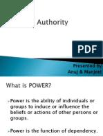 Power & Authority