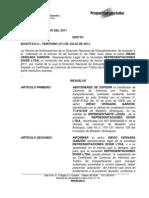 EDICTO  _29_ DIEGO VERGARA GARZÓN REPRESENTANTE LEGAL  SOCIEDAD REPRESENTACIONES DIVER LTDA