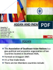 Asean and India