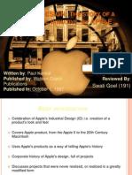 191_SwatiGoel_APPLE DESIGN the Story of a Strategic Initiative