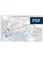 Oakland Truck Routes & Prohibited Streets Map