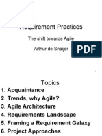 081007- Requirement Practises - Agile