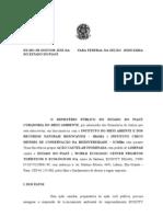 Ação Cautelar Proposta Contra o Licenciamento Ambiental Do ECOCITY BRASIL SA