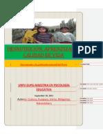desnutrición, aprendizaje y calidad de vida-Perú-2011