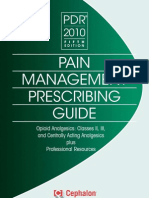 Physicians Desk Reference (PDR) for Pain Management